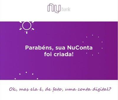 Vantagens e desvantagens da conta corrente do Nubank, antiga NuConta