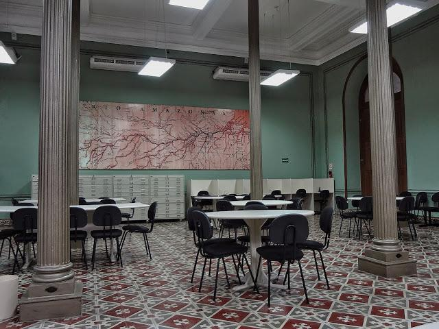 Biblioteca municipal de Manaus, Amazonas