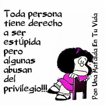 Mafalda: direitos e privilégios