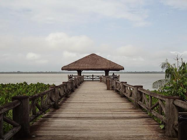 Mirante no Mangal das Garças – encontro do Rio Guamá e a Baía de Guajará
