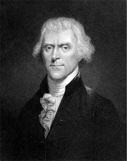 Thomas Jefferson e a procura da felicidade na declaração de independência dos EUA