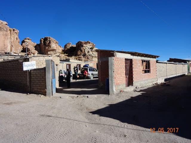 Hostel em Vilamar, em Salar de Uyuni, Bolívia