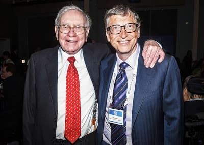 Bill Gates e Warren Buffet sobre filantropia